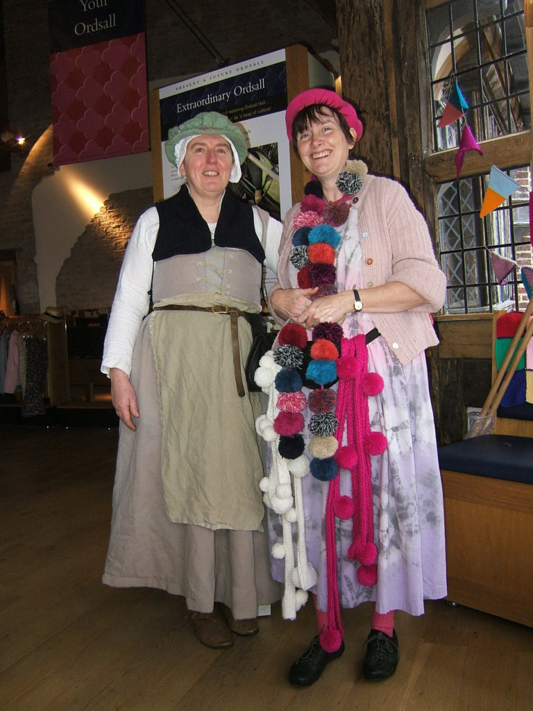 Lucy the Tudor and Nana Knitwit